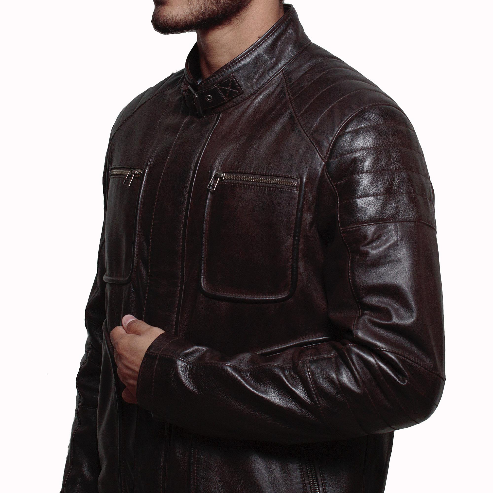 Arrow – John Barrowman Malcolm Merlyn Leather Jacket