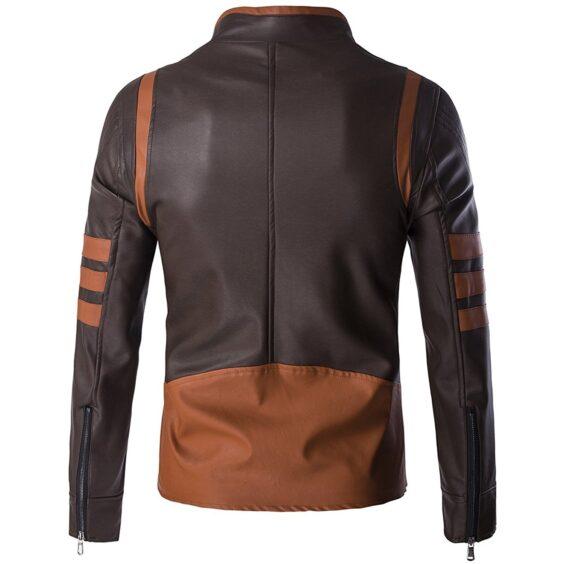 X-Men-Origins-Wolverine-Brown-Faux-Leather-Jacket