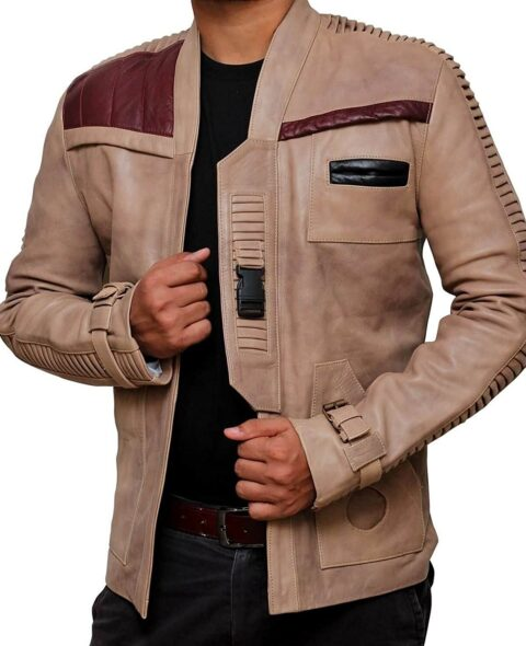 Star-Wars-Finn-Poe-Dameron-Leather-Jacket