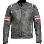 Cafe Racer Retro Leather Jacket