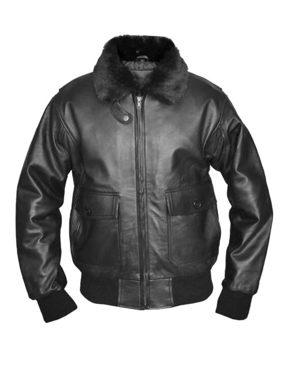 G-1 Top Gun Bomber Pilot Classic Leather Jacket