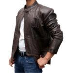 Han Solo Star Wars The Force Awaken Harrison Ford Leather Jacket