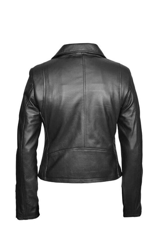 Women's lambskin Slim fit Leather Jacket