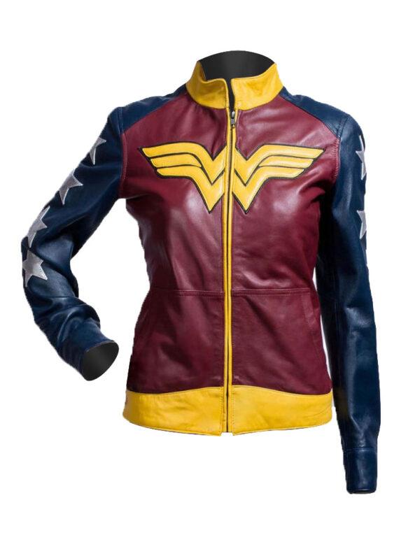 Wonder-Woman-Diana-of-Themyscira-Leather-Jacket