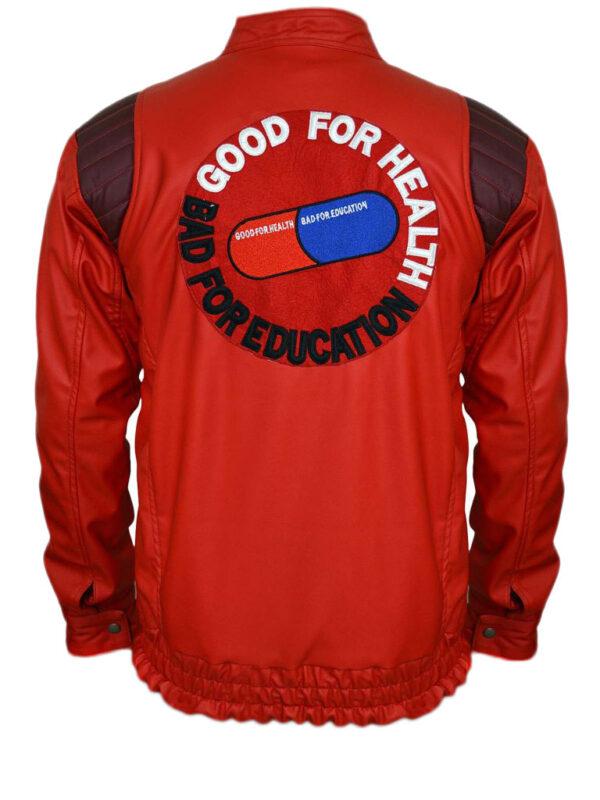 red kaneda akira jacket anime leather
