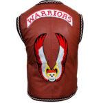 brown warrior vest