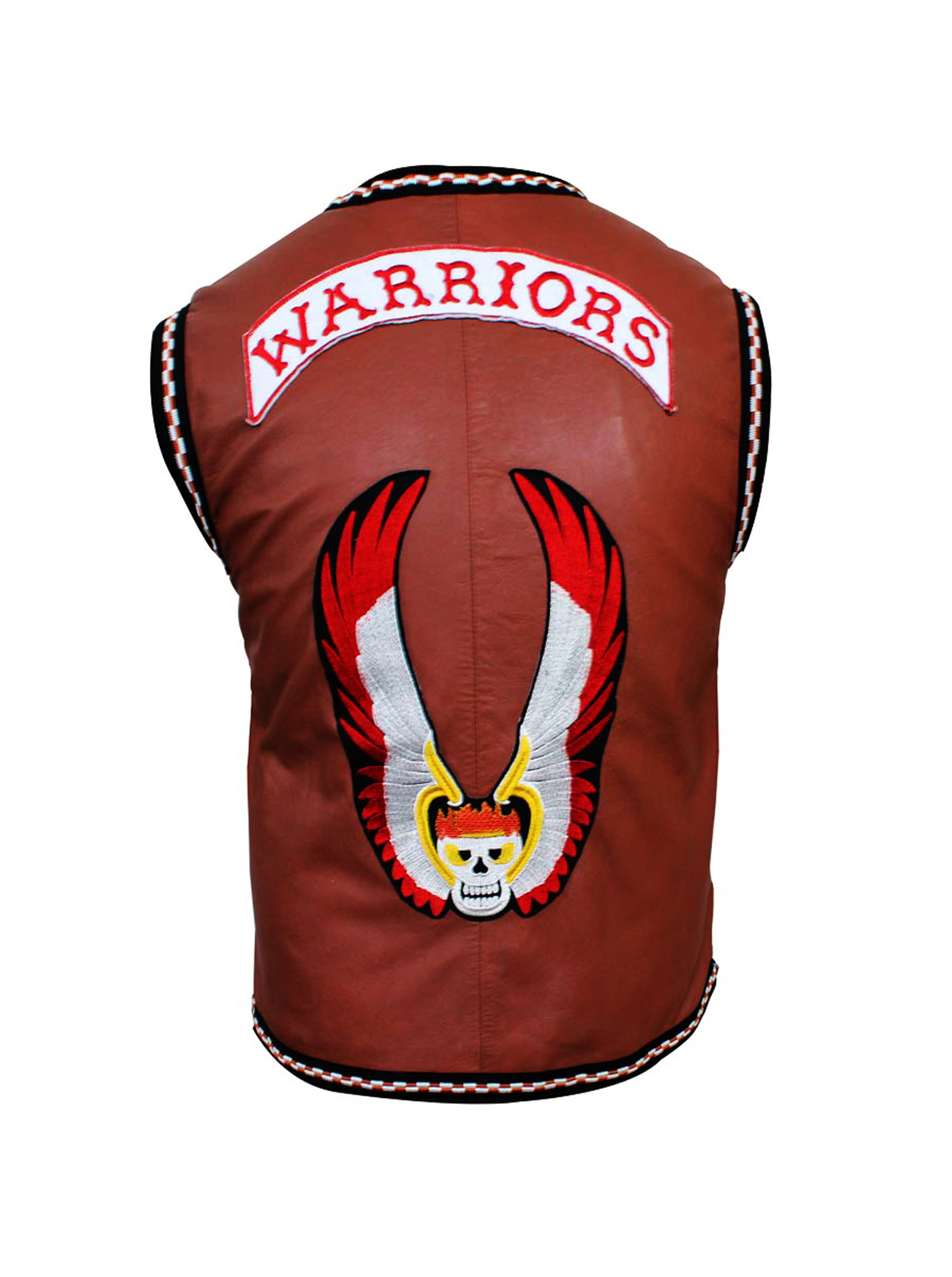 brown warrior vest