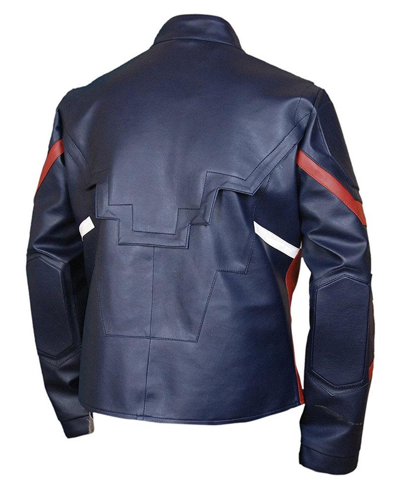 Captain America Civil War Leather Jacket