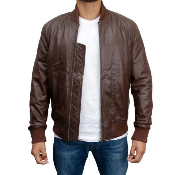 Flight-Bomber-Black-Leather-Jacket