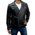 Brando Motorcycle Biker Leather Jacket