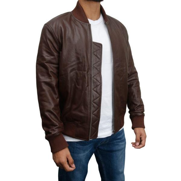 Classic-Bomber-Soft-Italian-Nappa-Leather Jacket