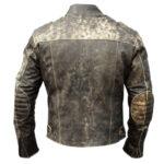 Men's Cafe Racer Hooligan Leather Jacket