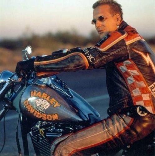Harley Davidson And The Marlboro Man Mickey Rourke Genuine Leather Jacket