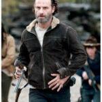 Dead Rick Grimes Leather Jacket