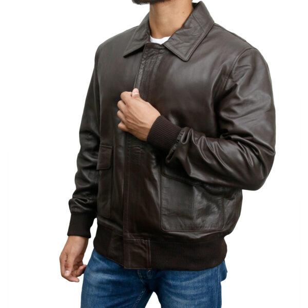 Classic-Bomber-Leather-Jacket