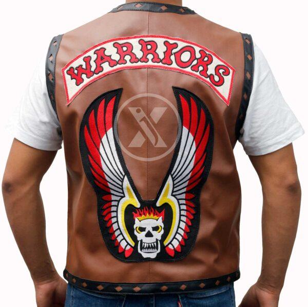 warriors movie leather vest
