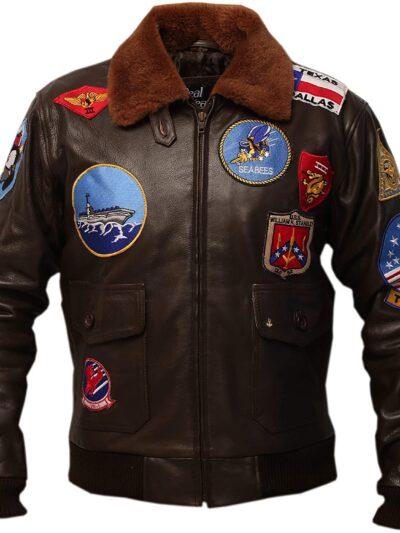 top gun bomber jacket tom cruise maverick