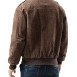 USAF A2 Flight Bomber Brown Leather Jacket