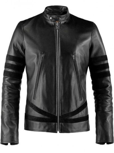 wolverine-black-leather-jacket