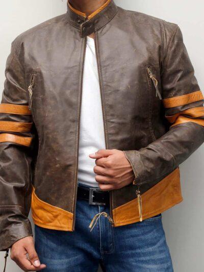 X-Men Origins Wolverine Leather Jacket