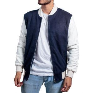 Driver-Ansel-Elgort-Jacket-Blue-Varsity