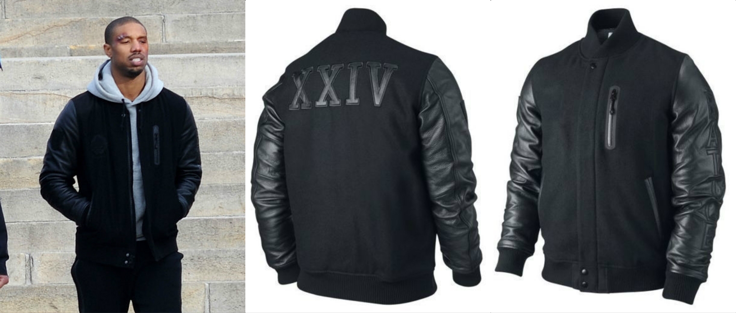 Destroyer XXIV Battle Leather Sleeves Jacket
