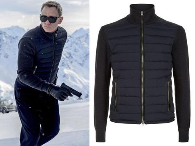 James Bond Daniel Craig Knitted Bomber Jacket