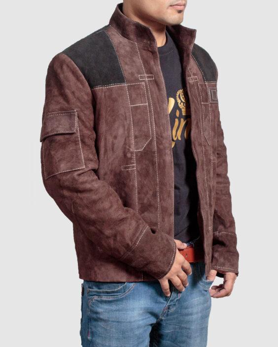 han solo jacket a star wars story alden ehrenreich jacket