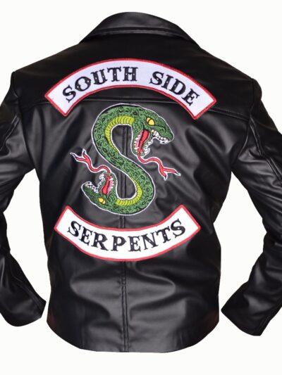 Riverdale Southside Serpents Leather Jacket Jughead