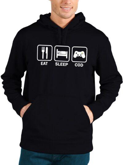 Eat Sleep COD Repeat Hoodie